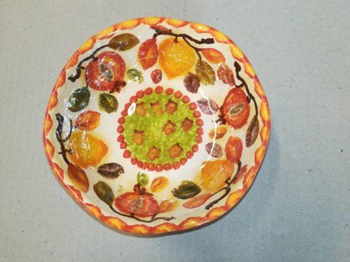 """Coppetta macedonia cm 14, Salad Fruit Bowl """"Frutta Circolare"""""""