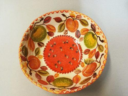 """Bolo cm 32, Big Bowl """"Frutta Circolare"""""""