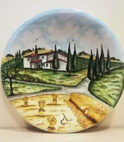 Piatti Decorativi Paesaggio