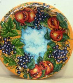 """Piatti decorativi """"Frutta"""""""