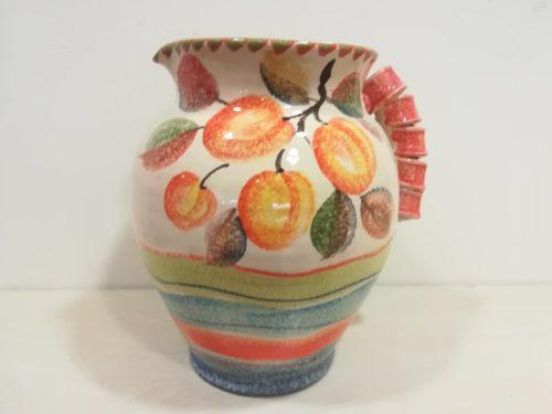 "Vaso Brocca cm 30 dec "" Albicocca"" Big Vase Pitcher cm 30 dec. Apricot"