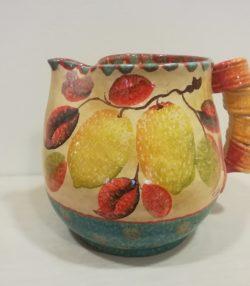 "Vaso Brocca cm 25 dec "" Limoni"" Big Vase Pitcher cm 25 dec. ""Lemons"""