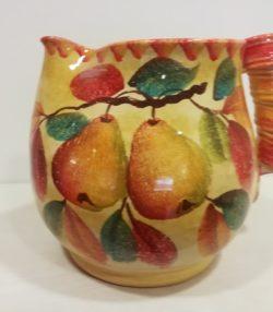 """Vaso Brocca cm 25 dec """"Pere"""" Big Vase Pitcher cm 25 dec. """"Pears"""""""