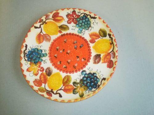 """Decoro """" Frutta circolare"""""""